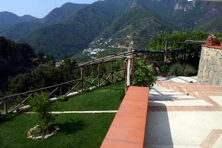Terrace and garden - Le Volte Antiche -  Amalfi Coast - Tramonti - rentals