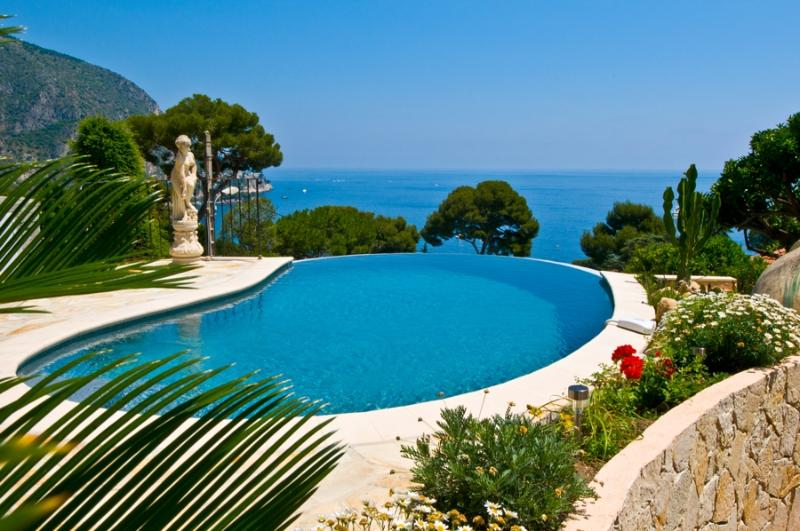 Villa Eze holiday vacation villa rental france, southern france, riviera, cote dazur, pool, view, holiday vacation villa to rent f - Image 1 - Clugnat - rentals