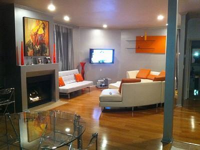 1st floor living room - UNIVERSAL STUDIOS CLOSE-UP (*****Homeaway #336162) - Los Angeles - rentals