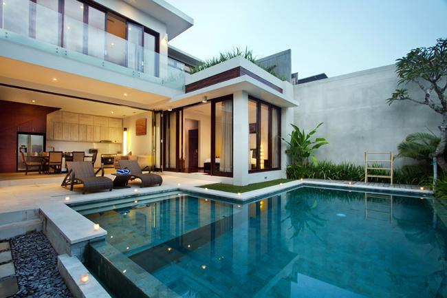 View from the entrance. - Villa Portsea - 2 Bedroom Villa in Seminyak - Seminyak - rentals