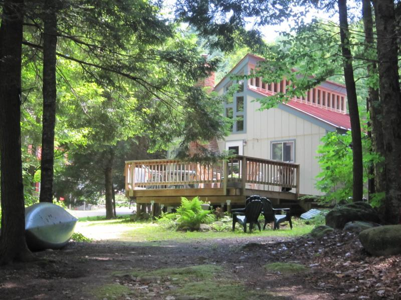 View of the Cottage from the Lake - A Vermont House for All Seasons - Ludlow - rentals