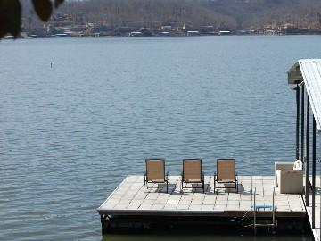 Take in some sun on the swim dock. - FREE Cleaning! GOLF-Shop-Large Groups@ISLAND 1&2! - Lake Ozark - rentals