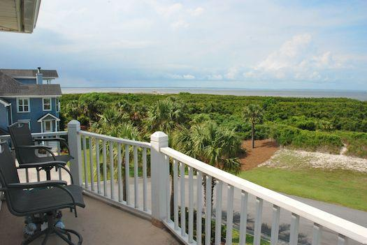 Master Bedroom Porch - Inness Free - prices listed may not be accurate - Tybee Island - rentals
