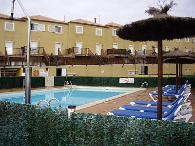 Pool - Luxury apartment with sea views, golf, WIFI, SATTV - Caleta de Fuste - rentals