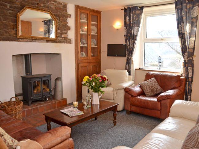Lounge with woodburner - MAWRN - Cwmdu - rentals