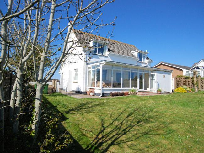 View towards property from the enclosed rear garden - WESHE - Westward Ho - rentals