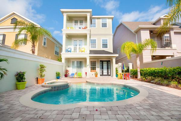 Main house - Reunion 2 - 5 bedroom house with pool in Kissimmee - Kissimmee - rentals