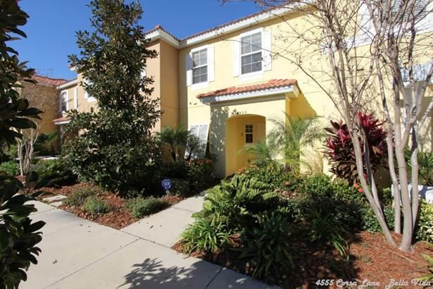 Town Home Front View - Cozy 3 Bedroom Townhome in Bella Vida - Kissimmee - Kissimmee - rentals