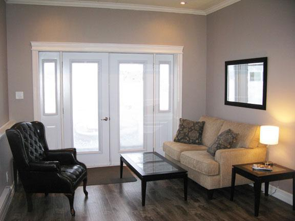 Entrance into Main Room - 2 Bedroom Condo in Gros Morne National Park - Woody Point - rentals