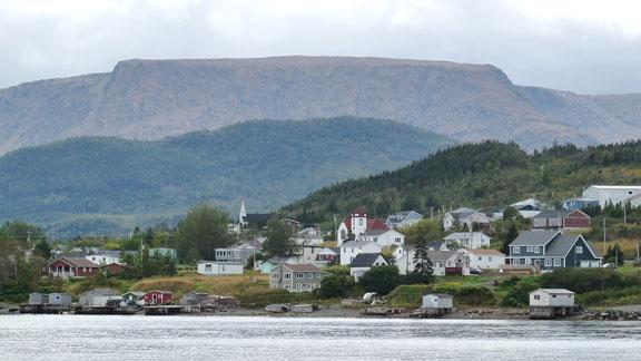 Woody Point from Bonne Bay - 2 Bedroom Condo in Gros Morne National Park - Woody Point - rentals