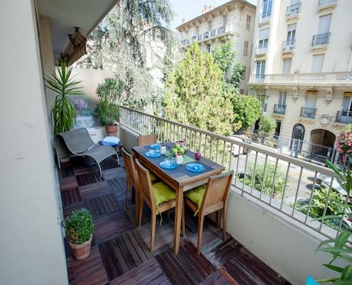Imperial- Amazing 2 Bedroom Nice Flat with a Large Balcony - Image 1 - Nice - rentals