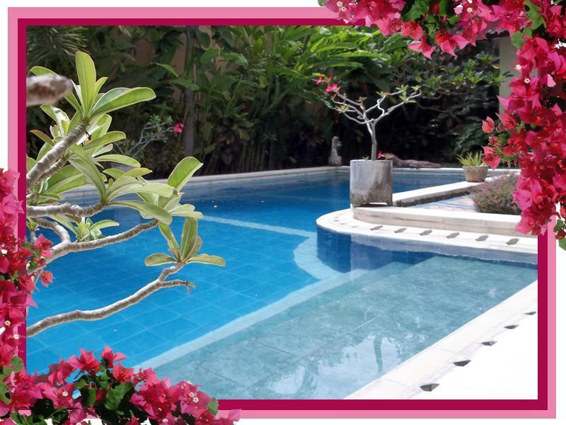 large L shaped pool wraps around villa - The Zoo -3 bdrm villa/pool in heart of Seminyak - Seminyak - rentals