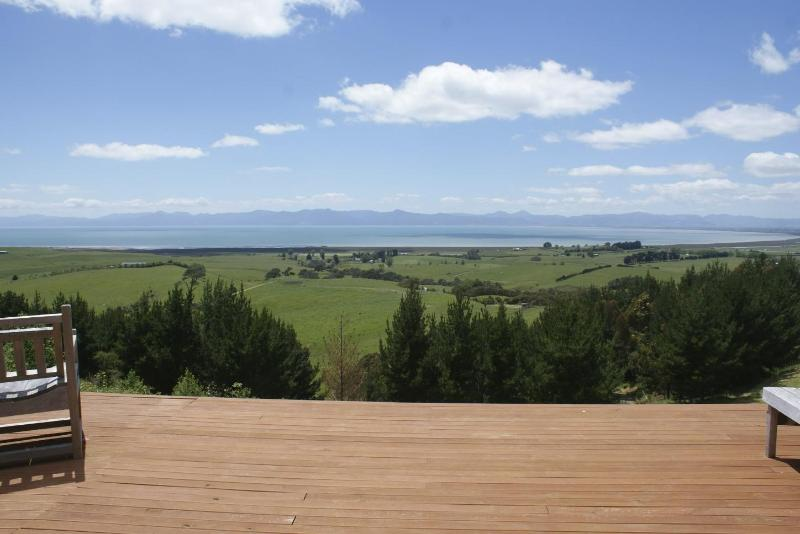 Deck Views - Miranda Cottage - Coromandel - rentals