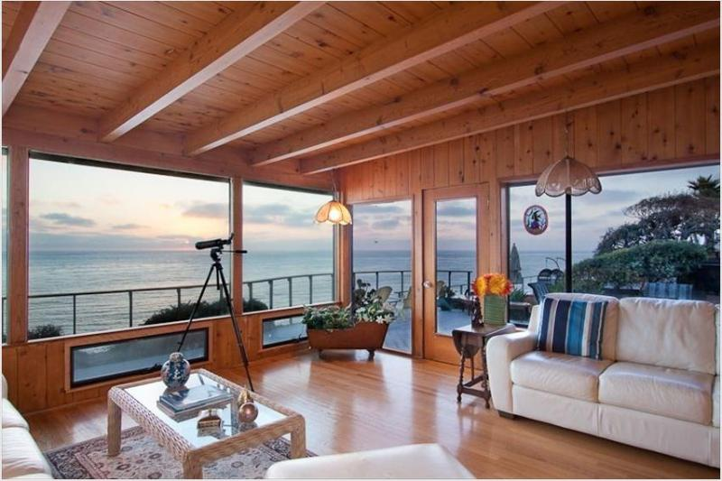 Amazing Ocean Views - Stunning Oceanfront Beach House 364 Encinitas - Encinitas - rentals