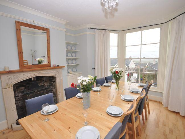 Large dining room with far reaching sea views - SEDRI - Westward Ho - rentals
