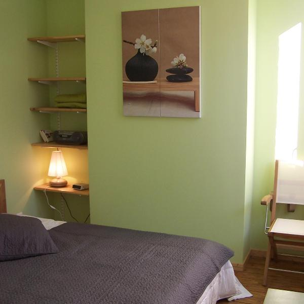 the green room - Gite Mosaique - 3 bedroom cottage in Arras (Fr) - Arras - rentals
