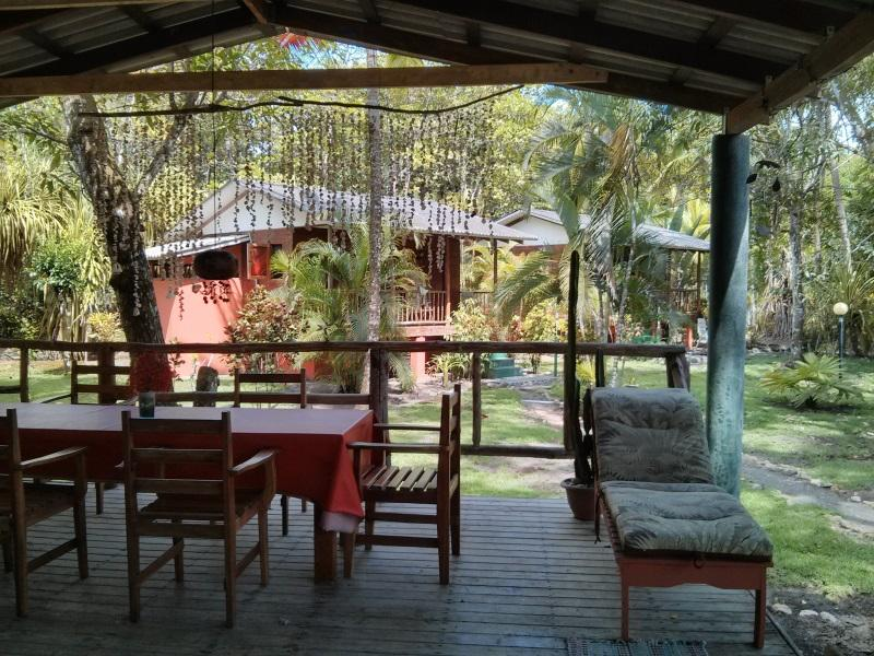 rancho out door - Unique Ocean Front Cabin with Pool  Playa Zancudo - Playa Zancudo - rentals
