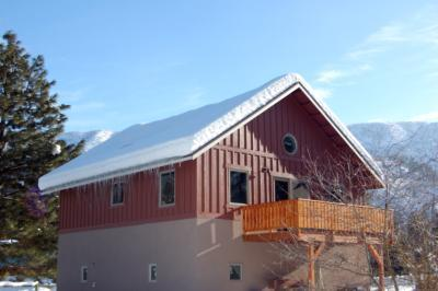West side view - New modern guest house, great weekend retreat! - Leavenworth - rentals