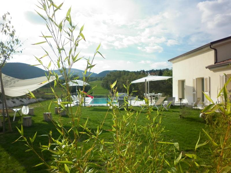 Garden - Le Marche Villa: country, pool, wellness, fitness - Sassoferrato - rentals