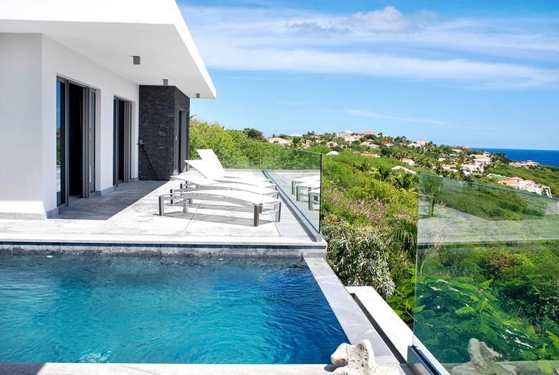 Crystal at Red Pond Estate, Saint Maarten - Ocean View & Pool - Image 1 - Sint Maarten - rentals