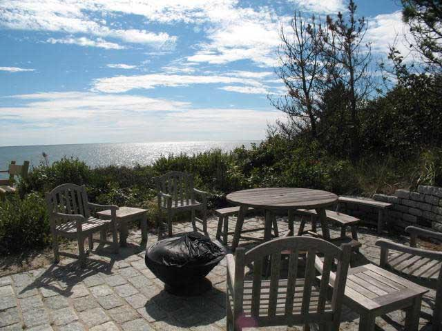 Oceanfront Patio - Ocean Front with Beach & Ocean Views - DE0491 - Dennis - rentals