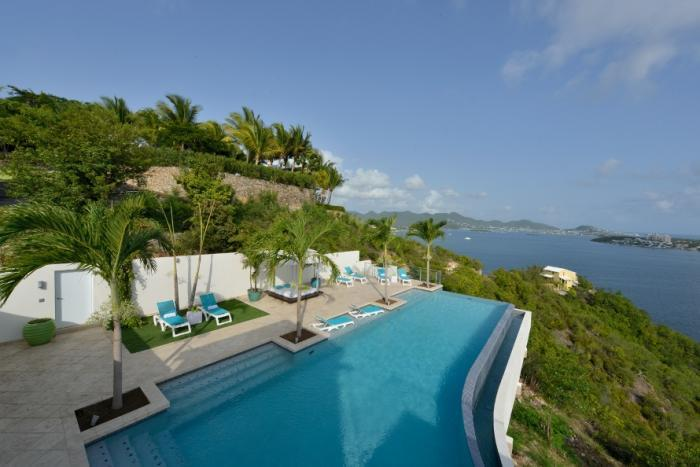 Acqua at Terres Basses, Saint Maarten - Ocean and Lagoon View, Pool - Image 1 - Terres Basses - rentals
