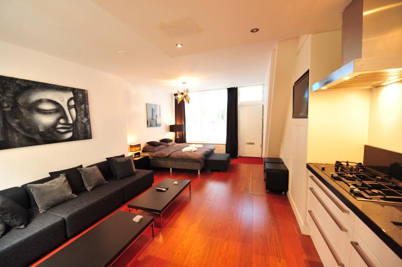 Centra III - Spacious and luxury private Dutch House in old city center of Amsterdam, sleeps 6 - Image 1 - Amsterdam - rentals
