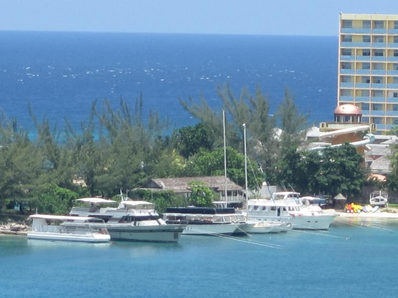 View of the marina - Panoramic Ocean View - Ocho Rios - rentals