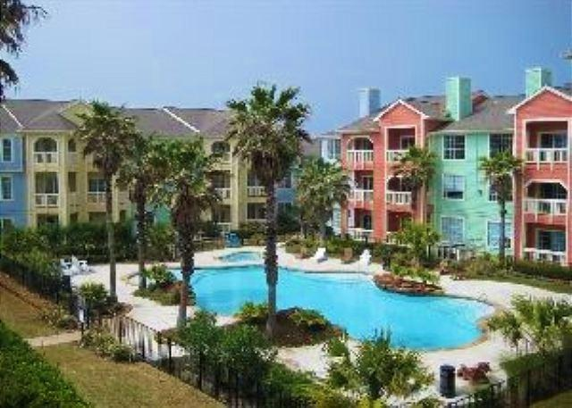 Dawn 625 is a Second Floor Gulf View One Bedroom, One Bath - Image 1 - Galveston - rentals