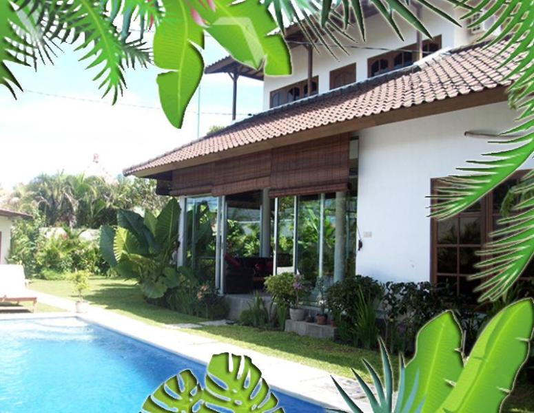Villa Palm close off living area from pool and air-condtion - 3bd Villa Palm walk to beach, restaurants Seminyak - Seminyak - rentals