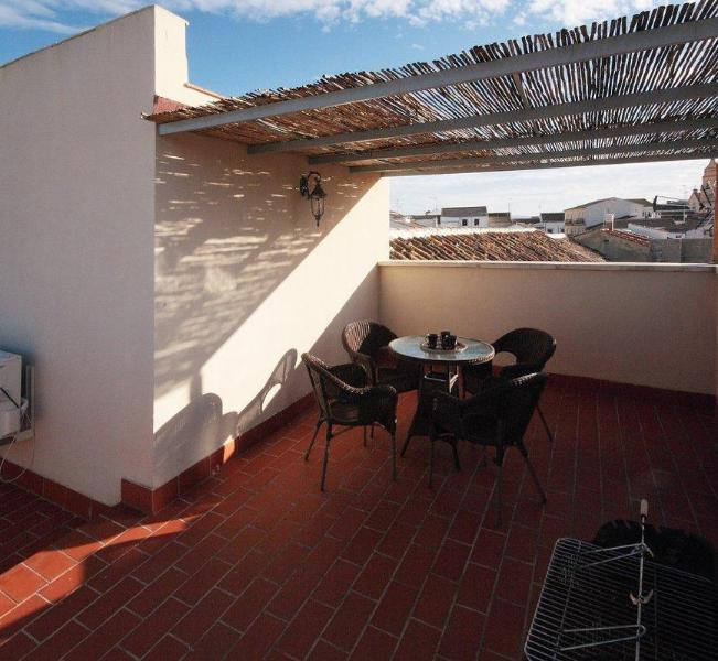 Roof terrace - Charming apartment in Andalusia - Fuente de Piedra - rentals