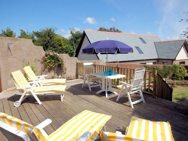 Large decked area perfect for alfresco dining - CONYP - Holy Island Of Lindisfarne - rentals