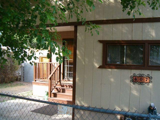 Front of house - Mamie's on Sonoita Creek - Patagonia - rentals