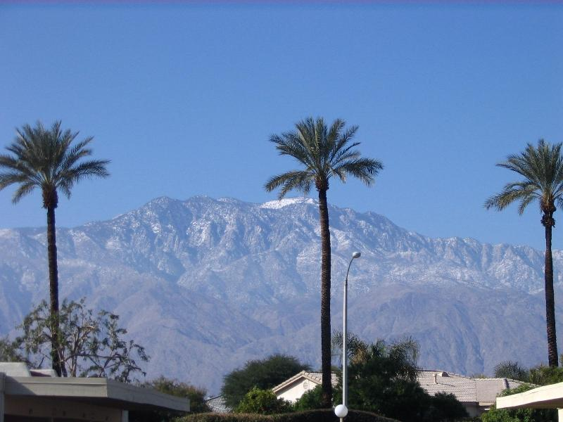 Mountain View From Front - Palm Springs Area Rancho Mirage Villa - Rancho Mirage - rentals