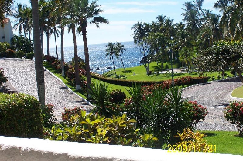 View from our large patio out to the ocean. - Vida Del Mar - Condo 160 - A Pacific Paradise - Manzanillo - rentals