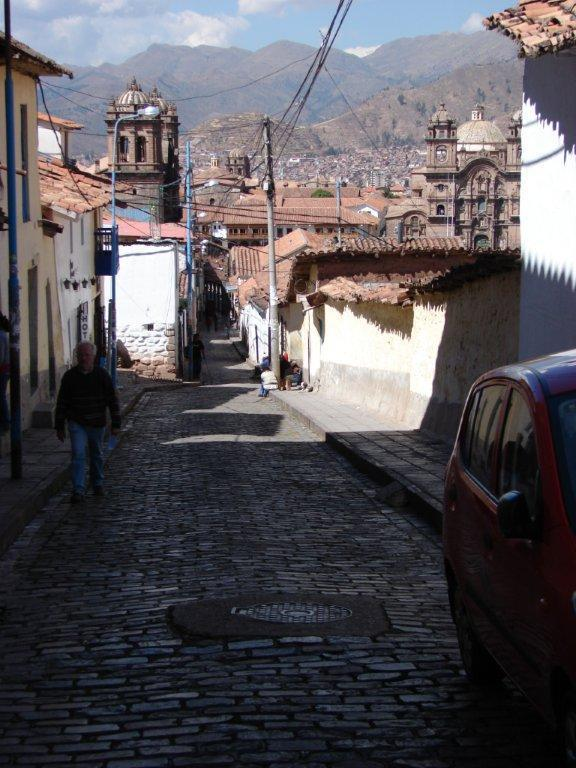 View to the main square from the balcony - Nice apartment in the heart of Cusco fully equippe - Cusco - rentals