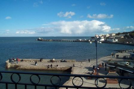 Balcony view - Penthouse apartment the Quayside Swanage Dorset - Swanage - rentals