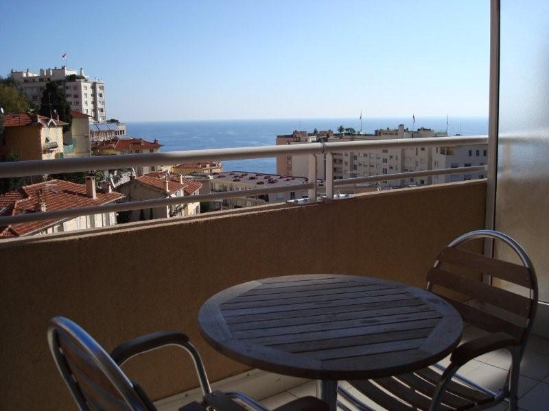 View From The Terrace in the Evening - Delightful Studio with a Fantastic Sea View, Just Minutes to Monte Carlo - Beausoleil - rentals