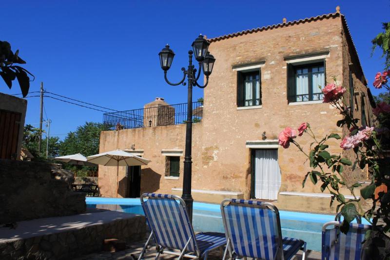 "Villa ""Laina"" Pool View - Beautiful luxurious stone Villa Laina private pool - Chania - rentals"
