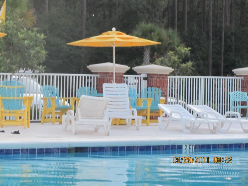 Outdoor Pool - R & R 3 Bed Room/2 Bath Golf Villa Condo - Surfside Beach - rentals