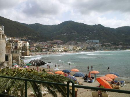 Apartment sea view 25 m from sea, in Sicily, Italy - Image 1 - Cefalu - rentals