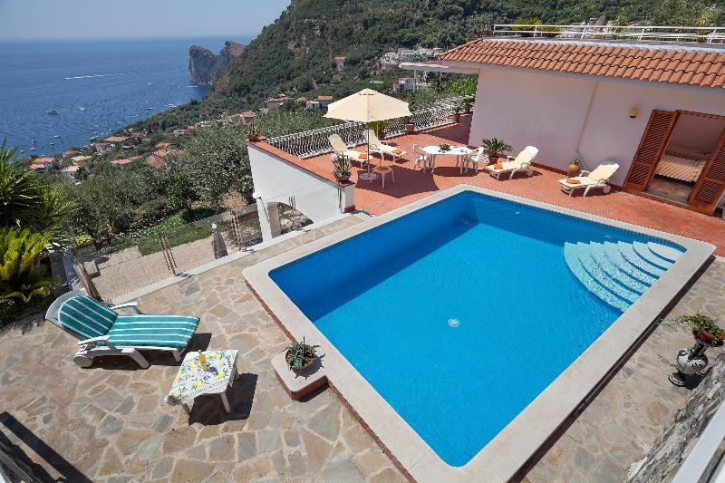 swimming pool 7mt x 4 mt - Casa Imma - Nerano - rentals