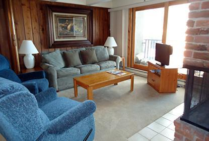 Living Area - 2 Bedroom/2 Bath Condo At Chateau Blanc- Unit 10 - Aspen - rentals