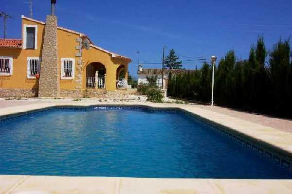 Villa Benibrai (Jalon-Alicante) - Costa Blanca Villa. 3 Bed. Private Pool, A/C, WiFi - Xalo - rentals