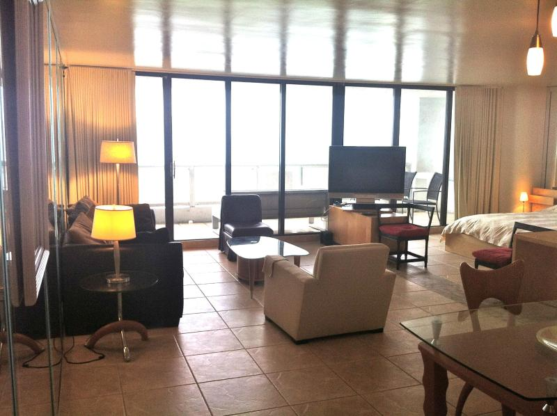It's a large 1 bedroom that's converted to a loft for the best view of the city and water in Miami - South Beach, Miami, & above the DoubleTree Hotel - Coconut Grove - rentals