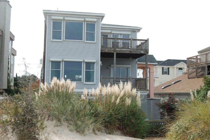 beach view of the house - Beach Front Home with Spectacular Views - Virginia Beach - rentals
