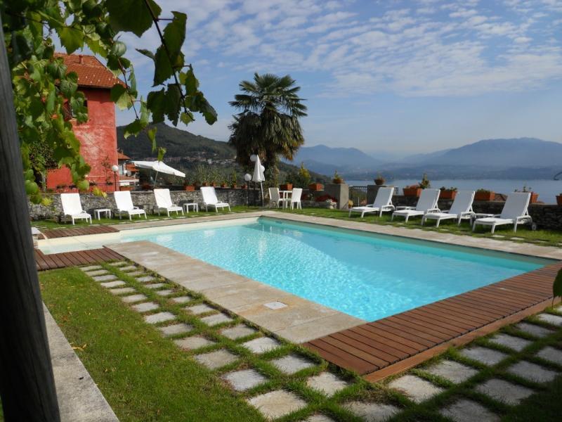 Villa Paesino  Lake Maggiori villa rentals, Italian Lakes villa rental, Lake Maggiori villa to let, villa with pool Lake Maggiori - Image 1 - Lake Maggiore - rentals