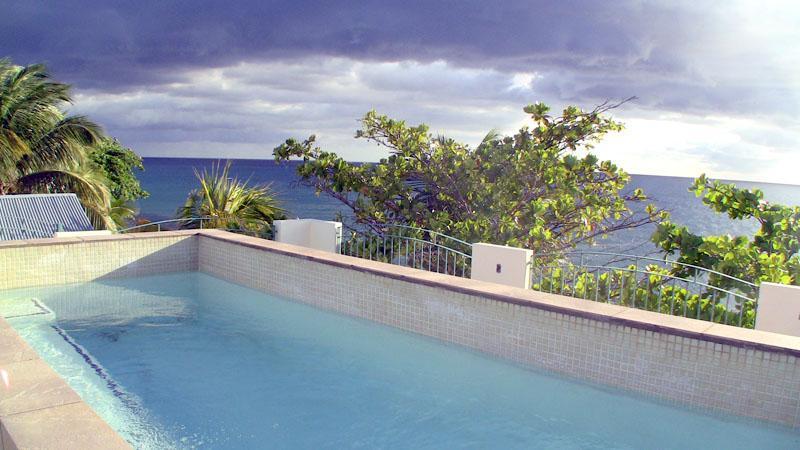 3rd floor terrace/pool - Arenas y Mar, Ocean Front in Rincon, Puerto Rico - Rincon - rentals
