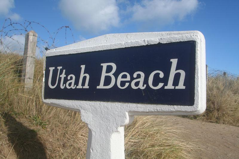 Welcome to Utah Beach © Mike Forster - Beach House Actually ON Utah Beach Normandy. - Sainte-Marie-du-Mont - rentals