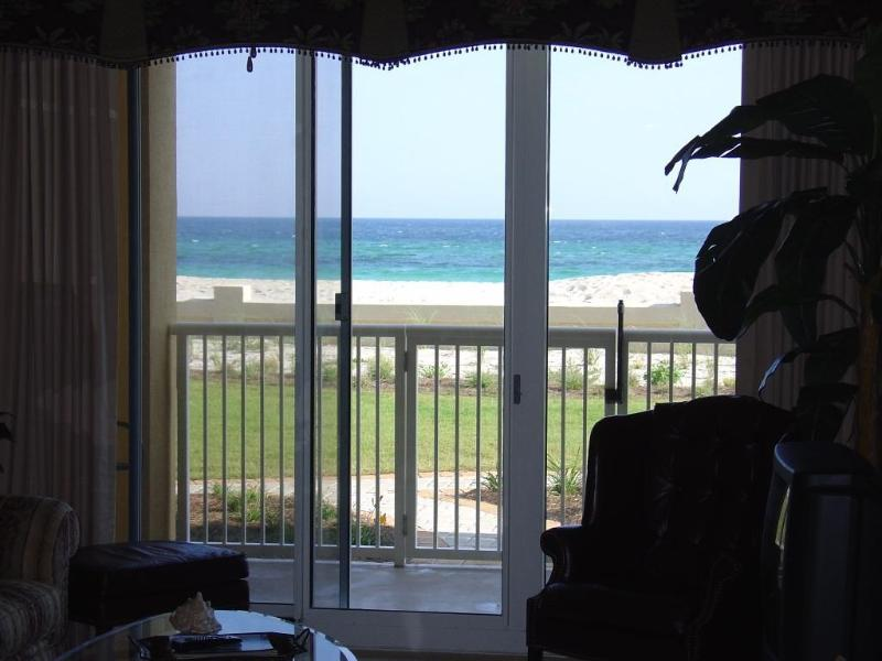 Emerald Coast right out your window. - Beachfront, ground floor convenience - Azure - Fort Walton Beach - rentals
